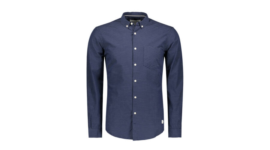 1091aa5827 Tom Tailor Denim sötétkék csíkos ing Katt rá a felnagyításhoz